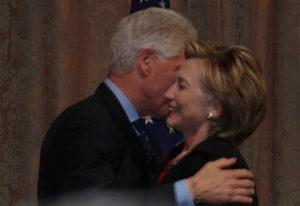 Friends of Hillary say she has Parkinson's